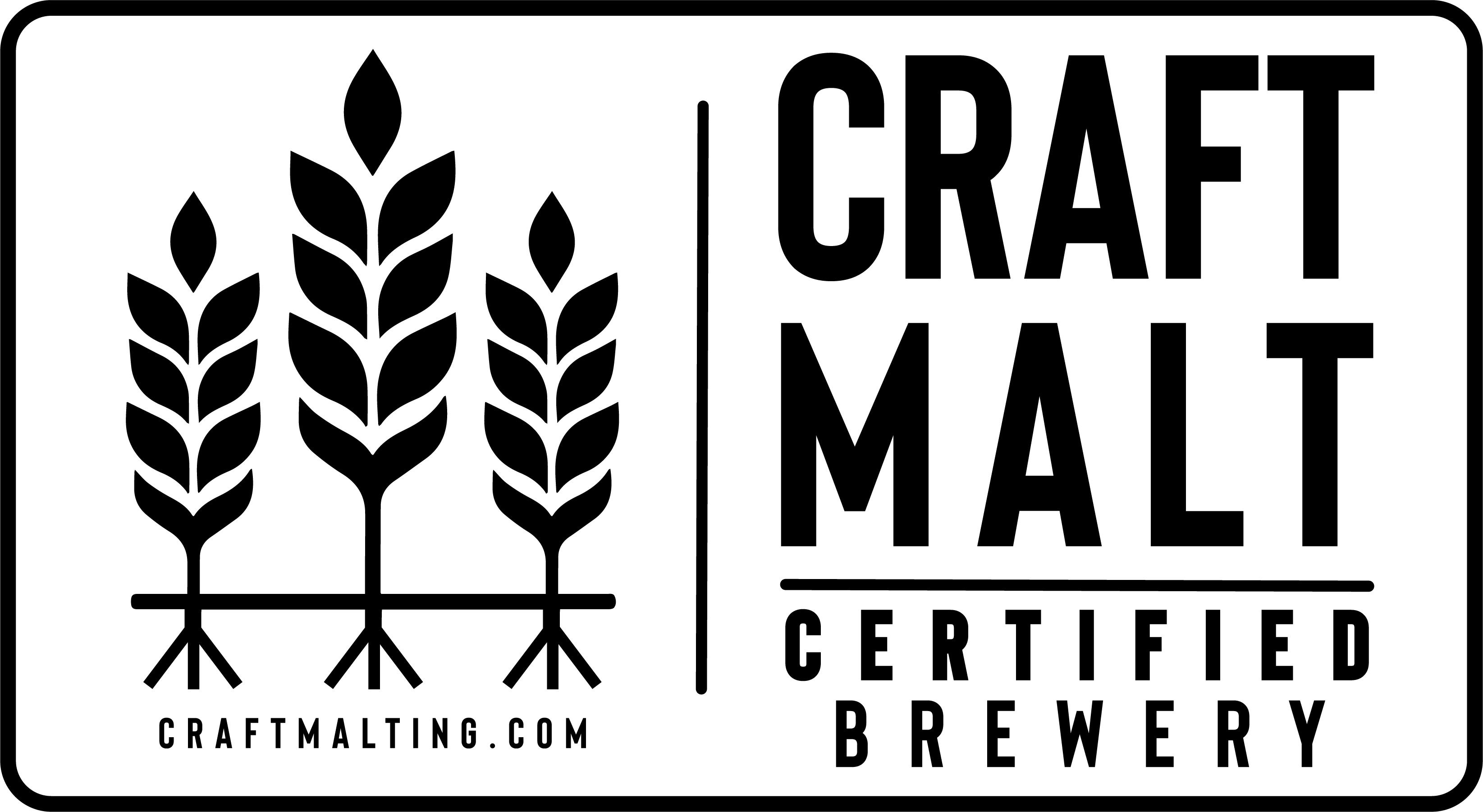 craft maltsters brewery logo